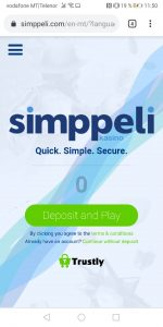Simppeli Mobile Casino mobile paynplay casino