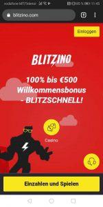 Blitzino Mobile Casino