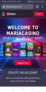 Maria Mobile Casino