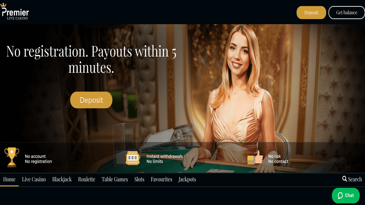 Premier Live Casino Review
