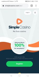 Simple Casino Mobile Casino