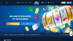 Spin Lovers Casino Review
