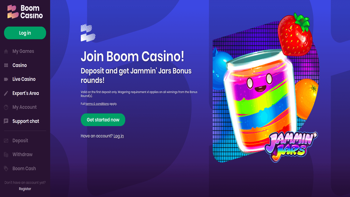 Boom Casino Review boomcasino review hero gaming