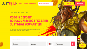 Justspin Casino Review